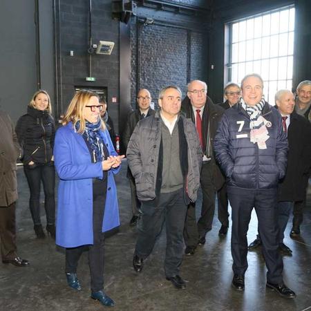 Visite du laboratoire DeVisu, guidée par sa directrice Sylvie Merviel