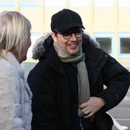 Frédéric Auburtin, premier assistant réalisateur sur le film