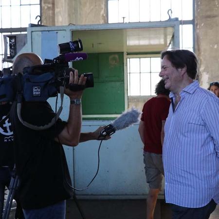 Dan Franck, l'un des auteurs de la série