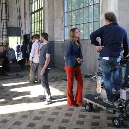 Une des scènes du tournage