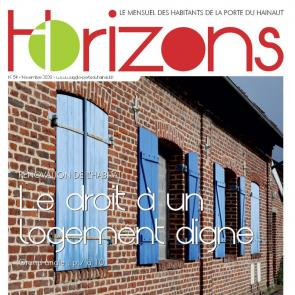 Couverture Horizons n°54